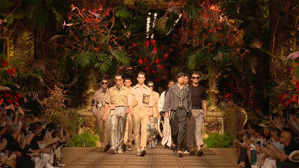DOLCE&GABBANA, MEN'S SPRING SUMMER 2020
